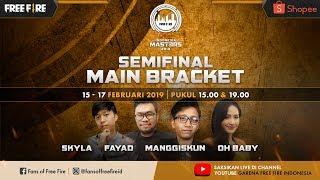 [2019] Semi Final Main Bracket D & E Free Fire Shopee Indonesia Masters