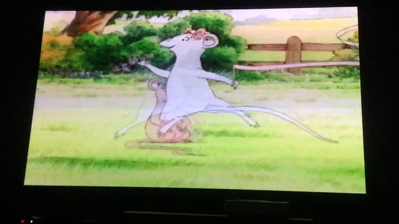 Angelina Ballerina The Show Must Go On Vhs