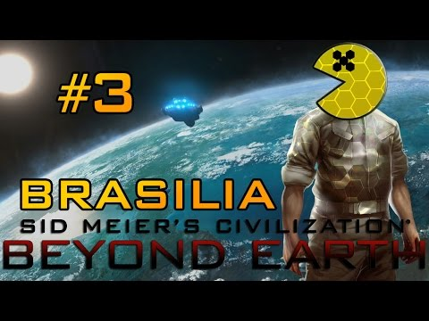 Let's Play Civilization Beyond Earth 1:3 - Brasilia