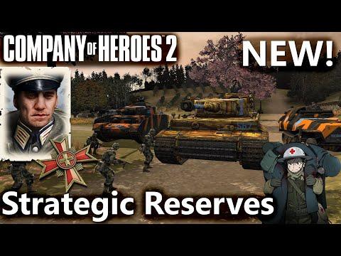 CoH2: Ostheer Strategic Reserves Commander (Company Of Heroes 2)