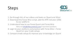 Intro to Forex Quant First Steps