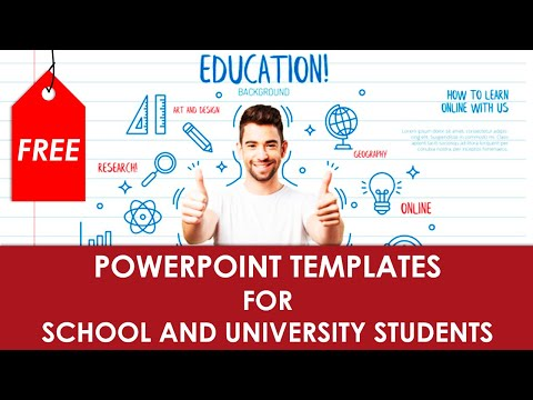 Free PowerPoint Templates For School And University Students