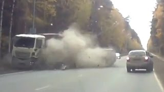 Horrific Truck Crash Compilation December 2016