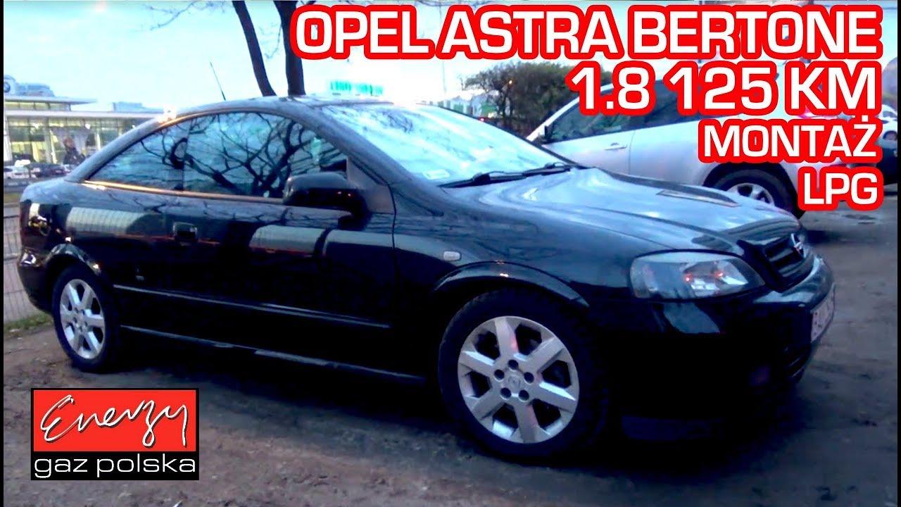 Montaż LPG Opel Astra z 1.8 125KM 2005r w Energy Gaz Polska na gaz BRC SQ 32