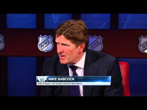 Strombo sits down for interview with Mike Babcock
