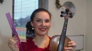 DIY Dot Violin Finger Placement Measurements | FULL SIZE (4/4) VIOLIN