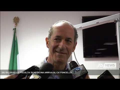 20/01/2020 | LA FACOLTA' DI MEDICINA ARRIVA AL CA'...