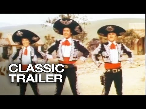 Random Movie Pick - ¡Three Amigos! Official Trailer #1 - Steve Martin Movie (1986) HD YouTube Trailer
