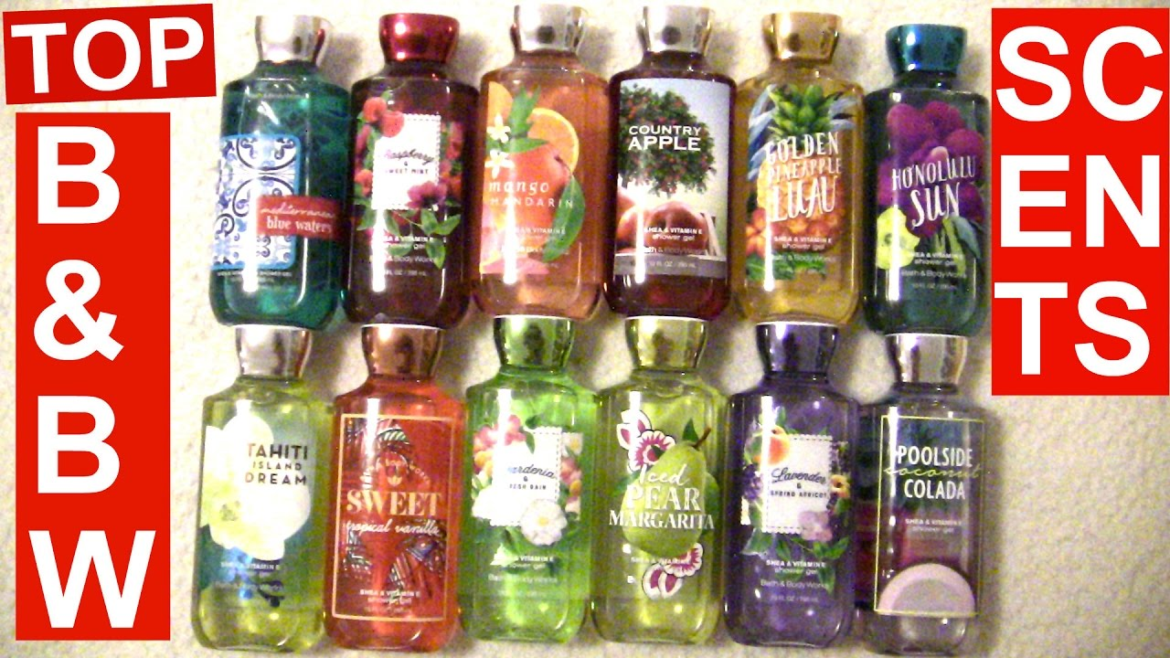 Bath and body works holiday scents - Bath Body Works 2017 Spring Top 12 Favorite Scents Mikayla