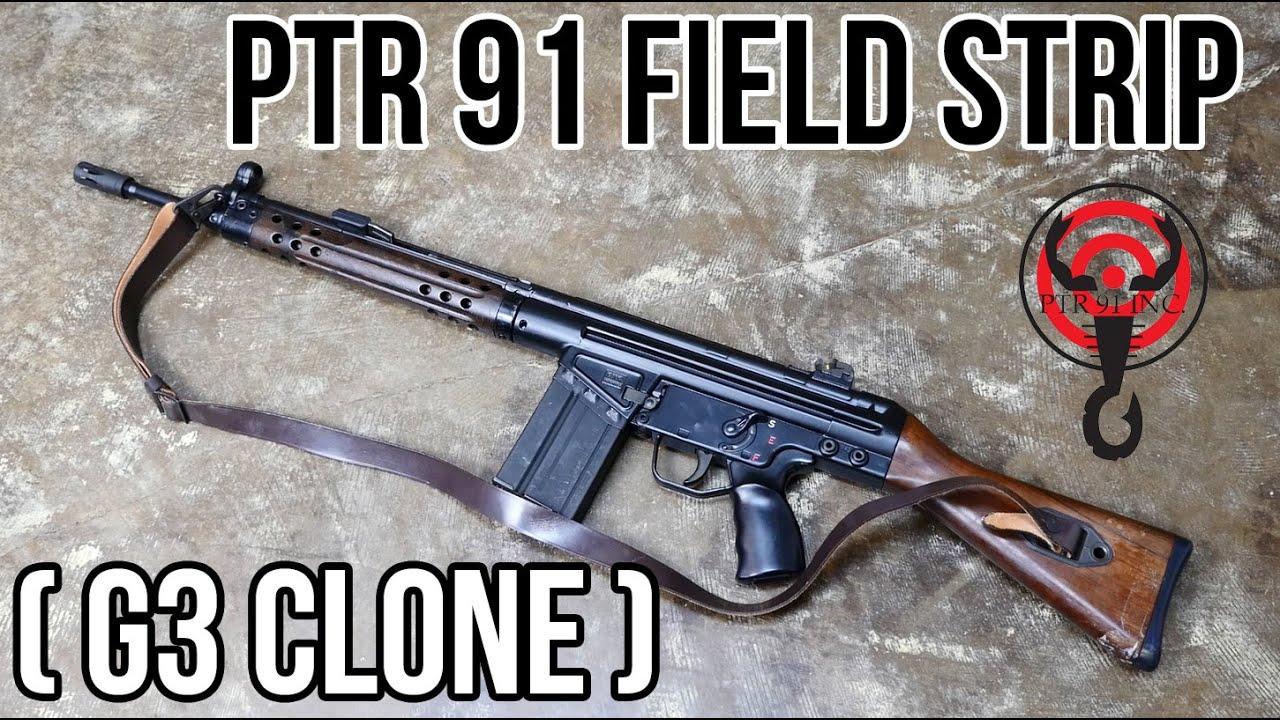 PTR 91 Field Strip (HK G3 Clone) - YouTube