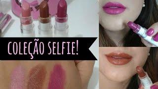 novos batons avon color trend coleo selfie