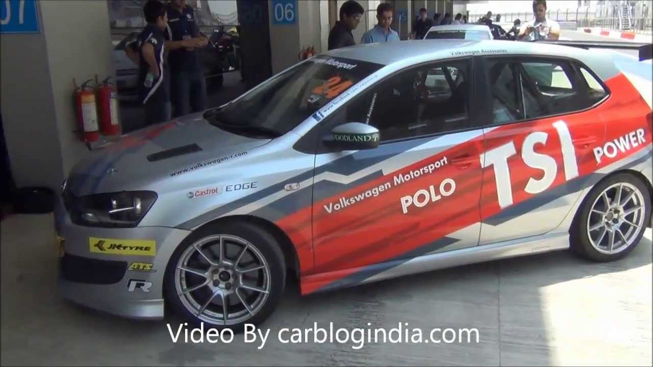 Volkswagen Polo R Cup 2013 Racing Car Test Drive Review 1 4 Tsi