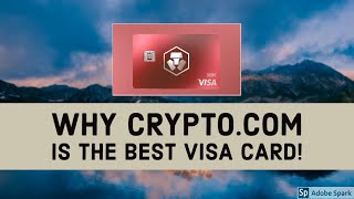 Why Crypto.com is the BEST Crypto VISA CARD! - Your first cryptocurrency Card? |Crypto Debit Cards|