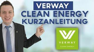 Verway AG | Clean Energy App | Strom und Gas |  Kurzanleitung mit Simeon Wilhelm