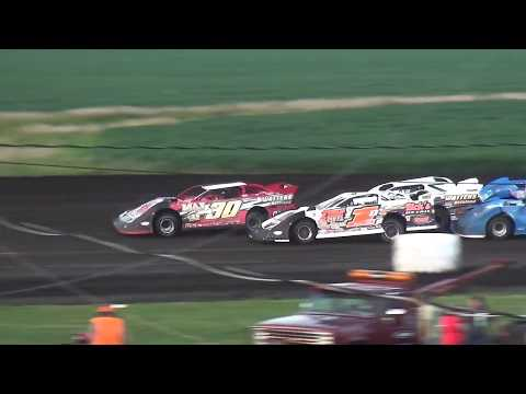 IMCA Late Model feature Benton County Speedway 7/22/18
