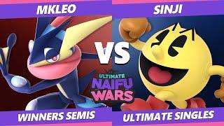 Naifu Wars 13 Winners Semis - DA | Sinji (Pac-Man) Vs. T1 | MkLeo (Greninja) SSBU Singles