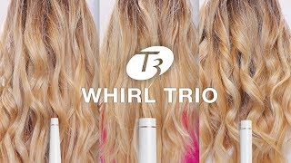 T3 Whirl Trio Curling Wand TUTORIAL & REVIEW (3 LOOKS)