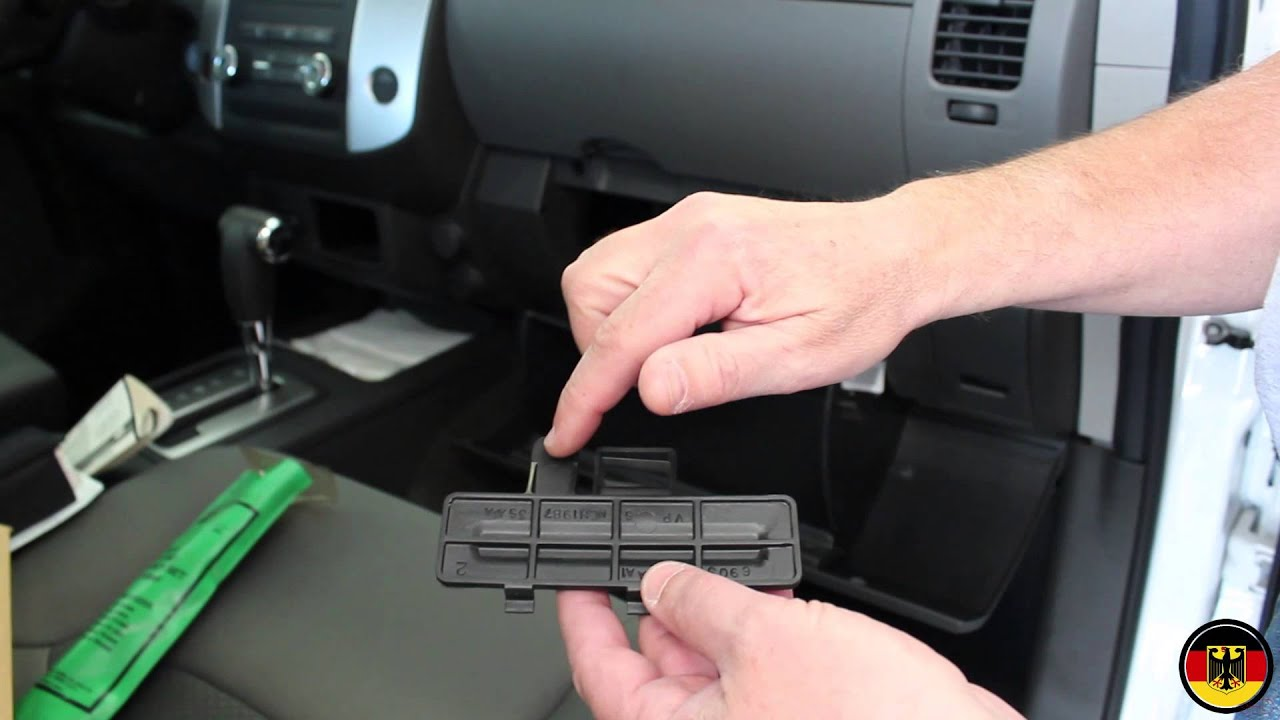 small resolution of 2005 2012 nissan xterra cabin filter replacement installation youtube2005 2012 nissan xterra cabin filter replacement installation