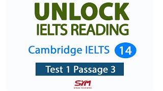 Hướng dẫn IELTS Reading Cam 14 Test 1 Passage 3 | Hương Bunny