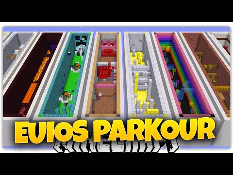 Minecraft | EUIOS | 18 Levels of Parkour