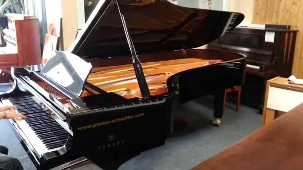 piano queue yamaha cfiiis pianos schaeffer youtube. Black Bedroom Furniture Sets. Home Design Ideas