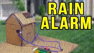 Baixar How to make a Rain Detector with alarm - Electronics projects
