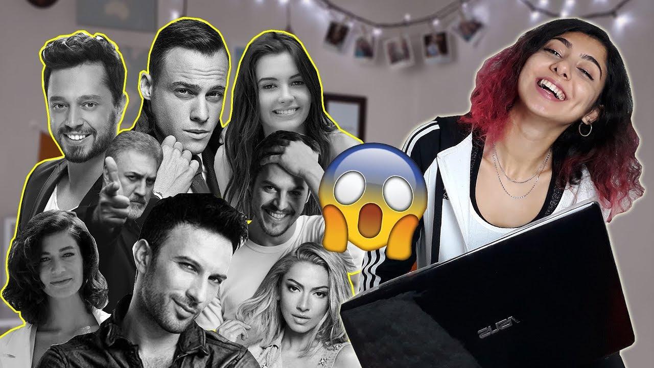 Türk ünlülerin Ingilizceleri Tepki Youtube