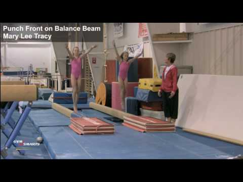 Punch Front on Beam - Mary Lee Tracy