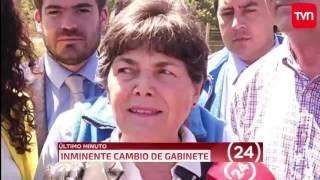 TVN - ÚLTIMO MINUTO - Cambio de Gabinete