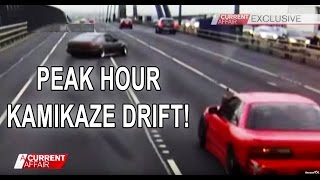 ACA High Speed AE86 Drifter Putting Lives At Risk Peak Hour Kamikaze Melbourne Australia
