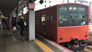 【1080p 60fps】【発車メロディー付き♪】大阪環状線   201系 LB10編成  普通 桜島行き 大阪駅 発車