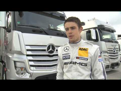 Paul Di Resta - Interview - Mercedes AMG DTM test