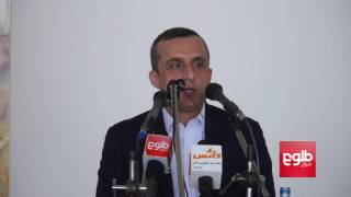 Saleh Criticizes Hekmatyar's Remarks – Full Speech / سخنرانی کامل امرالله صالح در ولایت کاپیسا