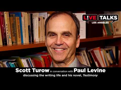 Scott Turow​ in conversation with Paul Levine at Live Talks Los Angeles