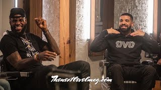 Drake Talks about Kanye West and Pusha T Beef with Lebron James