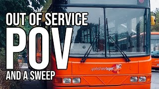 POV - Night Time / OUT OF SERVICE 🚌🚍🚦