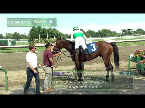 video thumbnail for MONMOUTH PARK 8-17-19 RACE 8