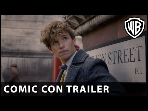 tastic Beasts: The Crimes of Grindelwald   ComicCon