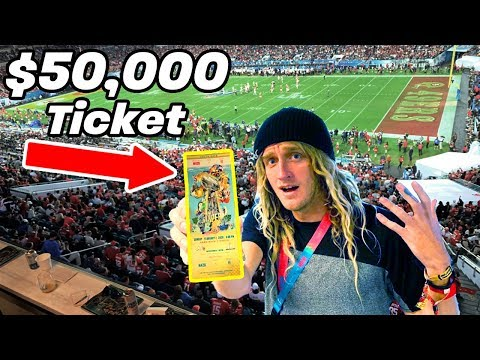 $50,000 Super Bowl Ticket (Miami, Florida 2020)