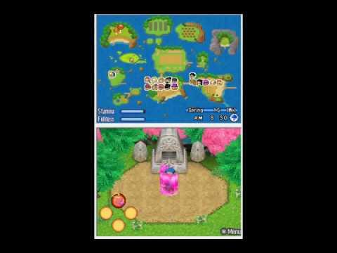 Harvest Moon Sunshine Islands Unlocking Mystic Island