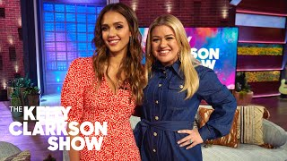 Jessica Alba Gets Candid About How Being A Mom Can Get Super Gross | The Kelly Clarkson Show