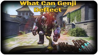 What Can Genji Deflect (Ashe Edition)