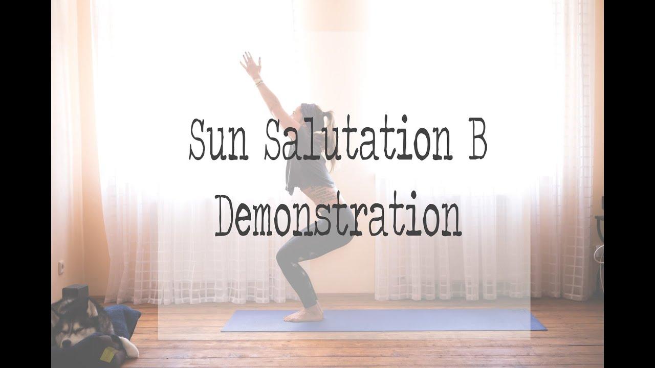 Sun Salutation Demonstration