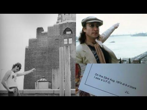 John Lennon Describes UFO In New York