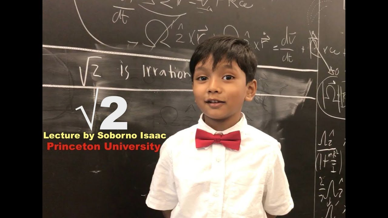 Proof : Square root of 2 is irrational by Sobrono Isaac