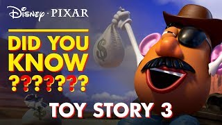 Pixar Did You Know: Toy Story 3 | Disney•Pixar