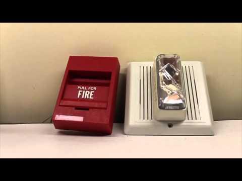 Edwards/EST 757-7A-SS70W (Integrity) Fire Alarm Overview/Test