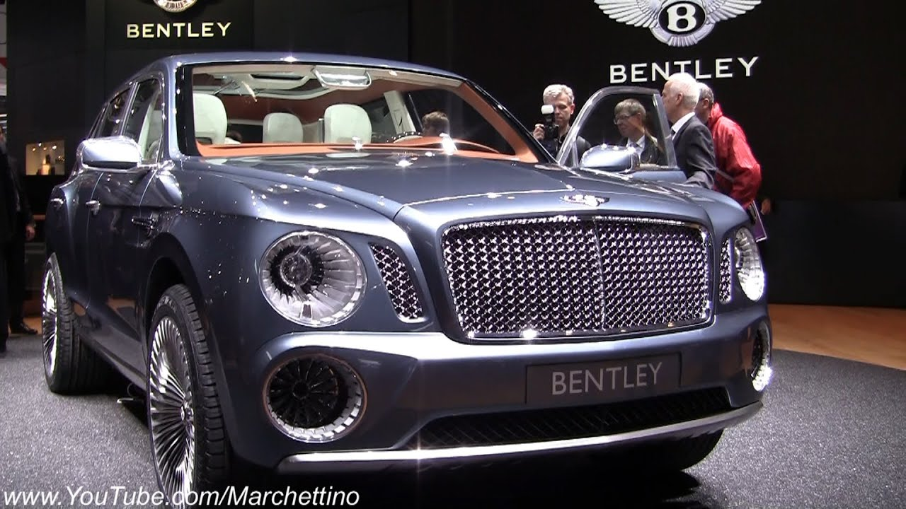 2013 Bentley EXP 9 F Concept SUV in Detail! - YouTube