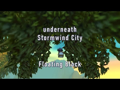 Stormwind Floating Block - WoW Classic Exploration