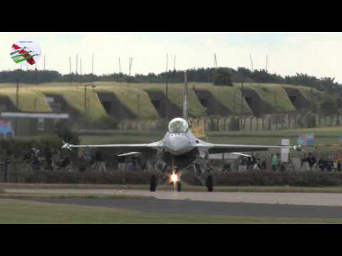 Waddington Airshow Arrivals 2014 With Air Band Radio Airshow World